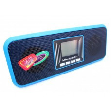 Портативная MP3 колонка USB плеер FM AT-8860 Blue