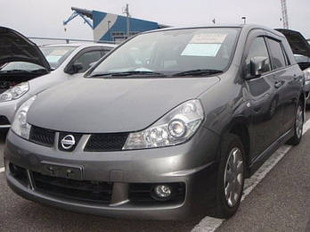 Дефлекторы боковых стекол Nissan Wingroad (Y12) 2005 / Nissan AD (Y12) 2006 (Ниссан Вингроад) Cobra Tuning