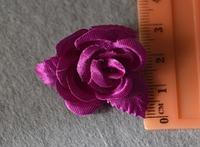 Атласные цветочки 3997  упаковка 10 шт