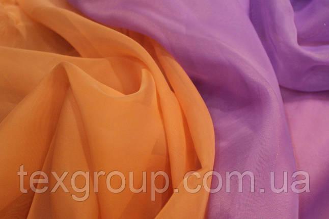 Шифон однотонный в цветах оптом, фото 2