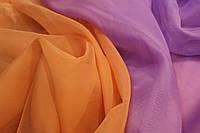 Шифон однотонный в цветах оптом