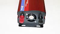 Инвертор преобразователь напряжения Power Inverter 2000W 24V в 220V Вольтметр, фото 3