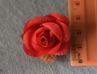 Атласные цветочки 3998  упаковка 10 шт