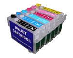 Перезаправляемые картриджи с чипами P50/PX660/PX700/PX720/PX800/PX820