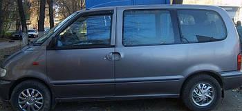 Дефлекторы боковых стекол Nissan Serena (C23) 1994-1999 (Ниссан Серена) Cobra Tuning