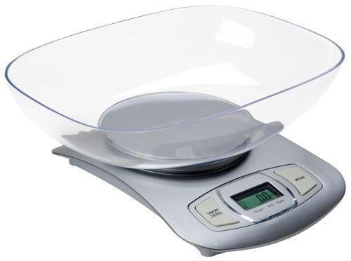 Весы кухонные электронные Adler AD-3137 Silver, фото 1