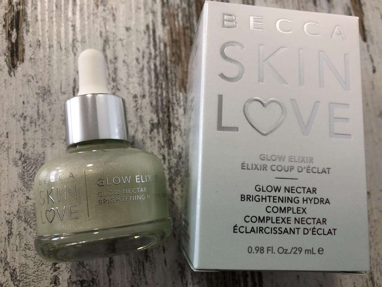 Успокаивающий праймер-сыворотка BECCA Skin Love Glow Elixir