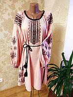 """Вишивана сукня """"Рожева мрія"""""""