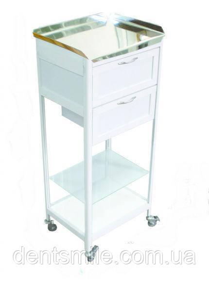 Стол анестезиолога, столешница с нерж. стали СА-4