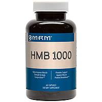 MRM, HMB 1000, 60 капсул