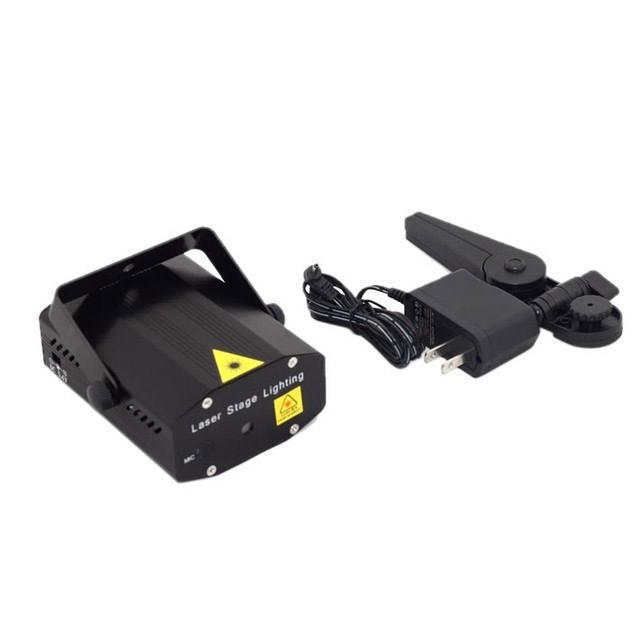 Лазерный проектор, стробоскоп, лазер шоу для дискотек (Арт: 7861)