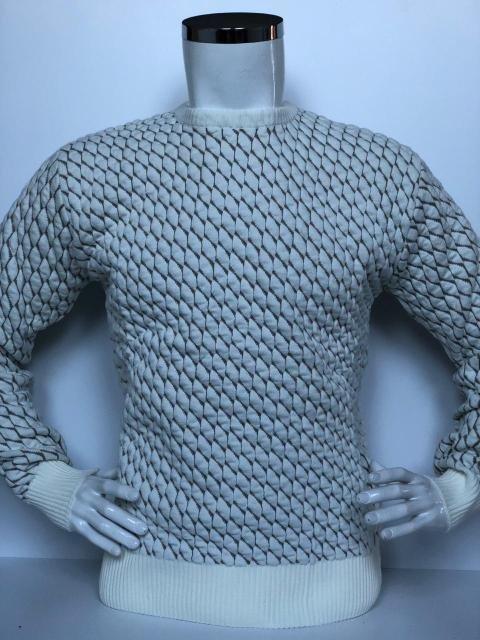 Теплий светр чоловічий молодіжний Vip Stones в'язка