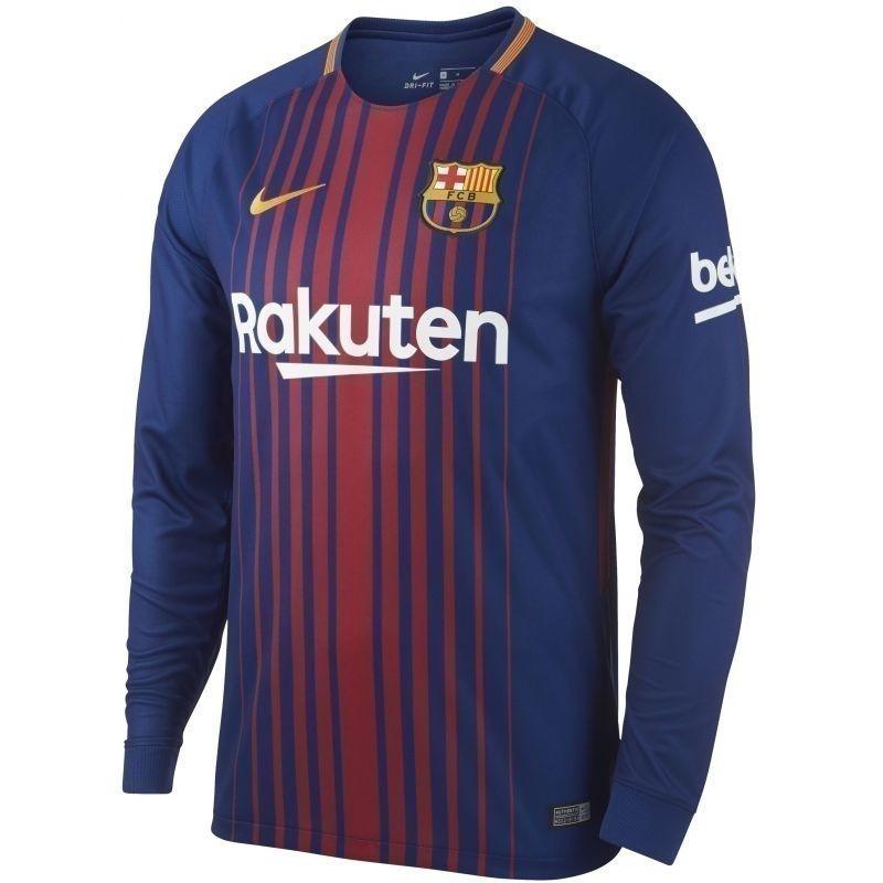 Футбольная форма Барселона 17/18 длинный рукав