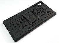 Чохол бампер протиударний броньований TOTO Dazzle kickstand для Sony Xperia XA1 Ultra g3212 чорний