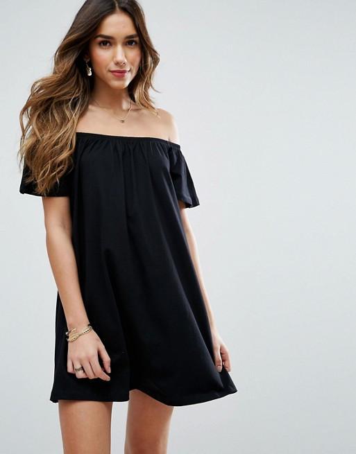 Новое платье на плечи свободного кроя ASOS