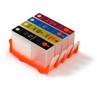 Перезаправляемые картриджи HP для картриджа 178 4 цвета