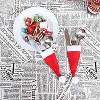 Рождественская шляпа для приборов, декорирования стола (072974922)