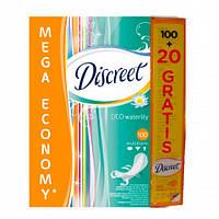 Discreet Deo Waterlily Прокладки ежедневные 100 + 20 шт.