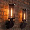 Светильник loft Vintage Industrial [ SUBMARINE PIPE   Black ] (водопровод)