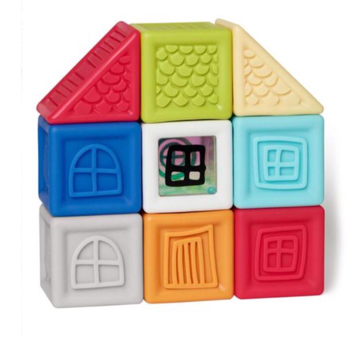 Кубики Vibrant Village blocks, Skip Hop