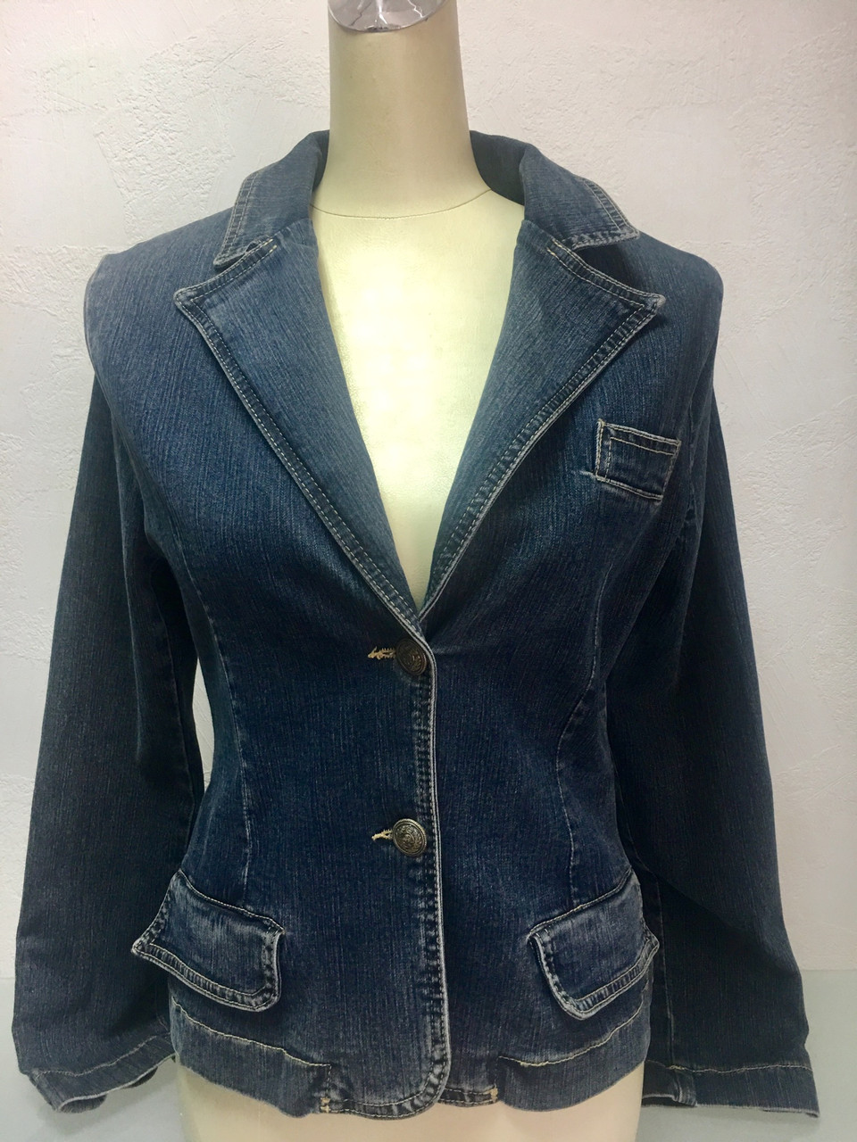 Куртка пиджак женская джинсовая Lexus