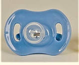 Пустышка силиконовая круглая, цвета разные., фото 2