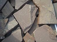 Плиты из песчаника серо-зеленые