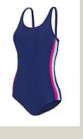 Купальник Self жіночий в спортивному стилі з відкритою спинкою, фото 1