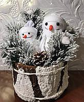Два Снеговика светящиеся