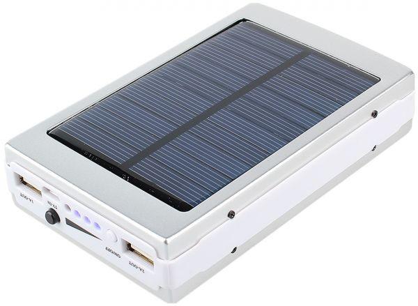 Солнечное зарядное устройство Power Bank 15000 mAh