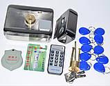 Замок электро-ригельный со встроенным контроллером доступа, фото 2