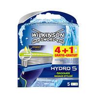 Wilkinson Sword HYDRO 5 Groomer сменные картриджи в упаковке  4+1 шт