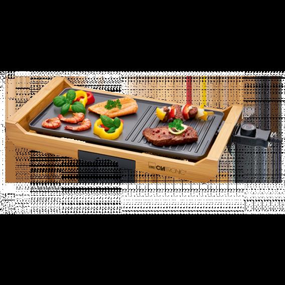 Электрический настольный гриль-барбекю 1800 Вт CLATRONIC TG 3697