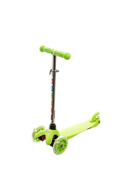 Трехколесный самокат iTrike Scooter 3-013-4 Green