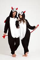 Пижама комбинезон Кенгуру производства Китай черно белая 01