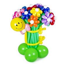 Букети та квіти з повітряних кульок. Харків. Салтівка.