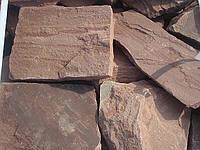 Песчаник красный гладкий, фото 1