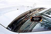 Жабо цельное без скотча с уплотнительной резинкой Renault Duster 2010-2017 г.в. Рено Дастер, фото 1