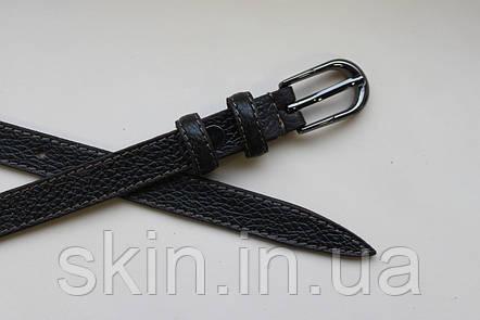 Женский ремень с пряжкой, ширина - 15 мм, цвет - коричневый, артикул СК 8047, фото 2