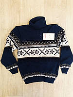 Подростковый свитер под горло для мальчика