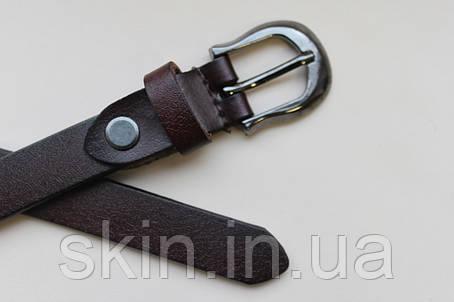 Женский ремень с пряжкой, ширина - 18 мм, цвет - коричневый, артикул СК 8048, фото 2