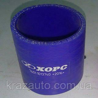 Патрубок теплообменника 4-х слойный (СИЛИКОН) 7601-1013740