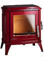 Печь-камин Sedan М  красная эмаль  Invicta , фото 1