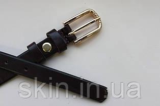 Женский ремень с пряжкой, ширина - 15 мм, цвет - коричневый, артикул СК 8054
