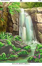 Схема для вишивки бісером водоспад