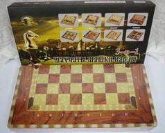 """Игра настольная """"JO"""" """"3 в 1 Шахматы, Шашки, Нарды"""" в деревянной коробке G07429-50"""