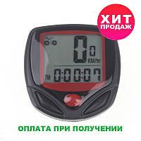 Вело компьютер спидометр одометр часы 15 в 1 MBI-67, фото 1