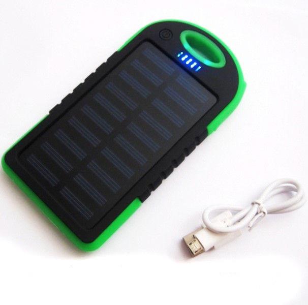Сонячне зарядний пристрій Power Bank 10800 mAh