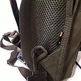 Рюкзак кобура для военных на одно плечо 10 л оливковый, фото 9