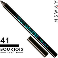 Bourjois - Карандаш для глаз Contour Clubbing Waterproof Тон черный